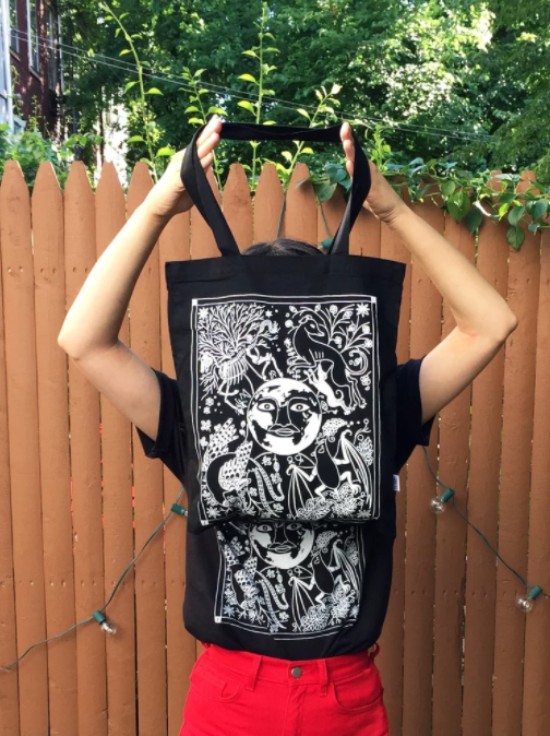 Image of Dark Seasons Tote