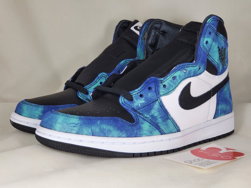 Image of Jordan 1 Retro High Tie Dye Womens