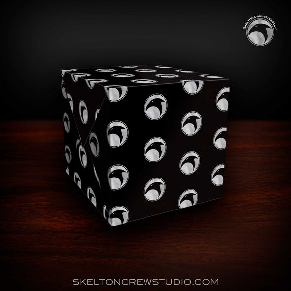 Image of The Skelton Crew Collection: Raven Logo Wrapping Paper! SALE!