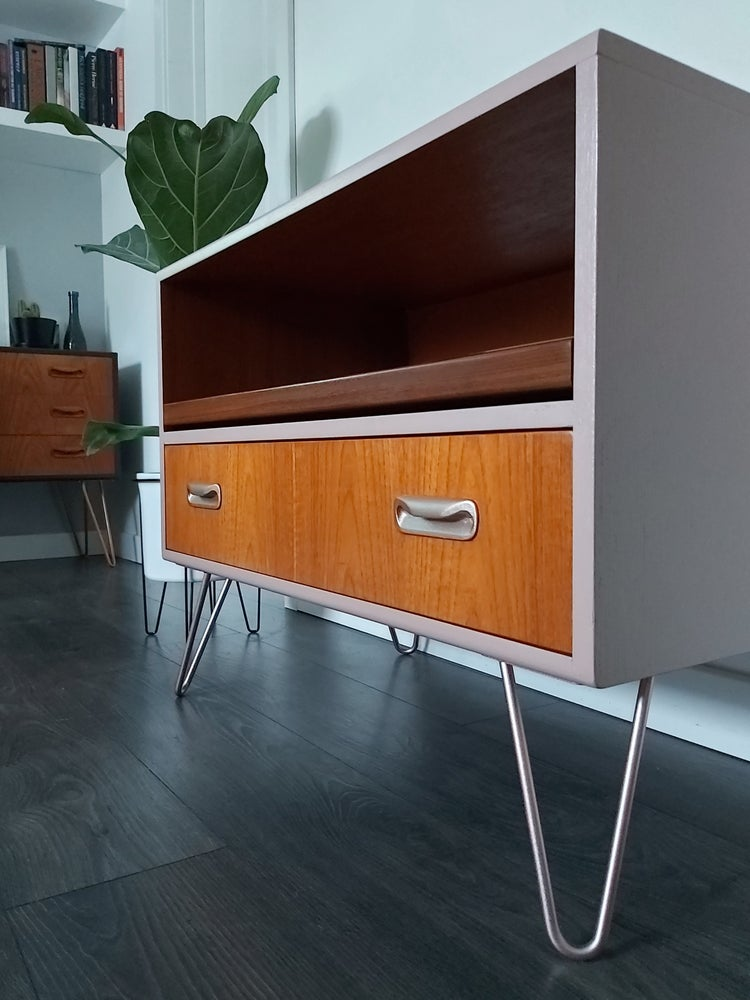 Image of •RESTYLED TO ORDER• G PLAN FRESCO MEDIA UNIT