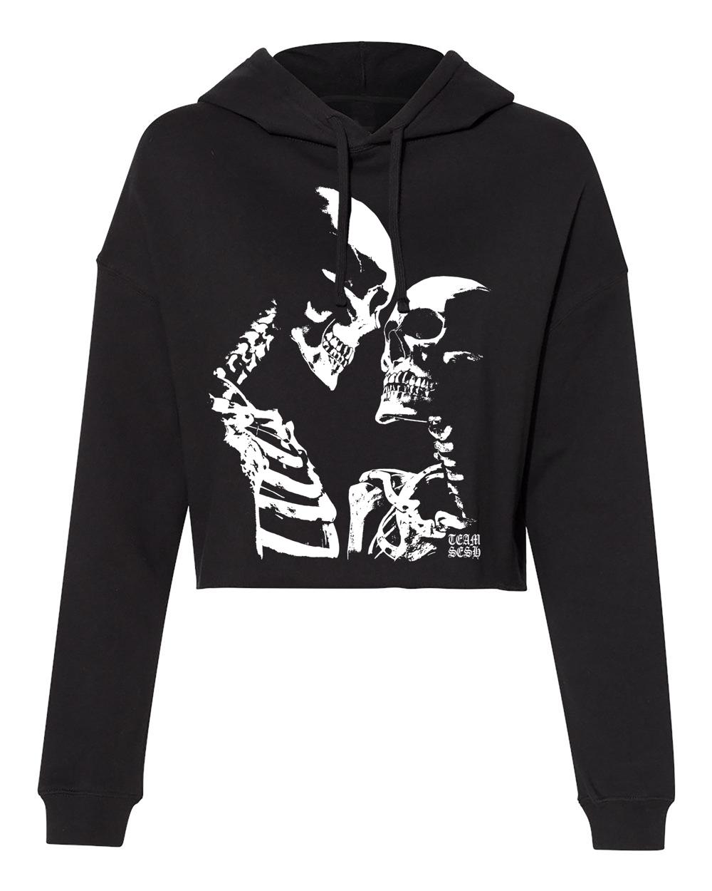 Image of DeadGirls cropped hoodie