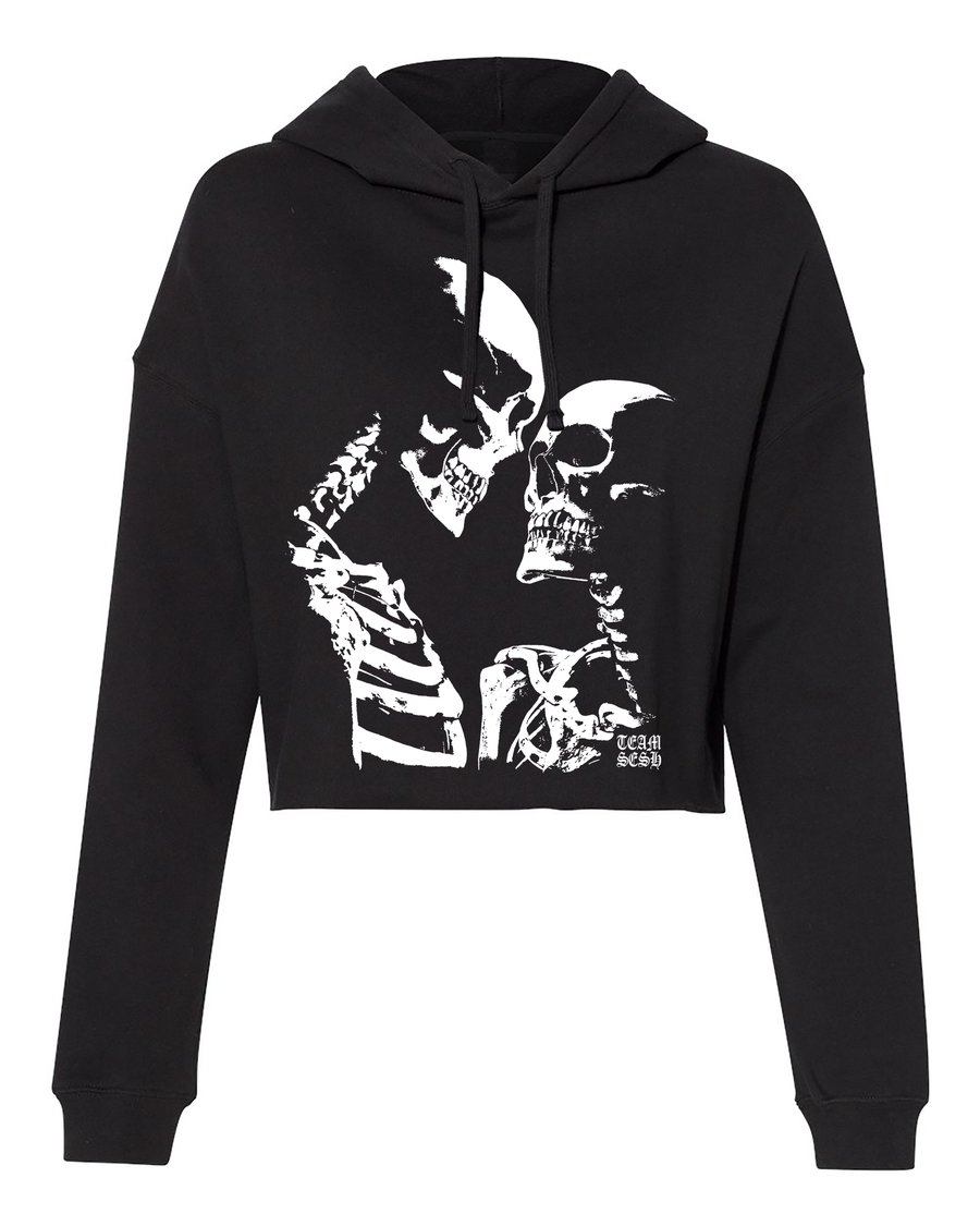 Image of DeadGirls cropped hoodie