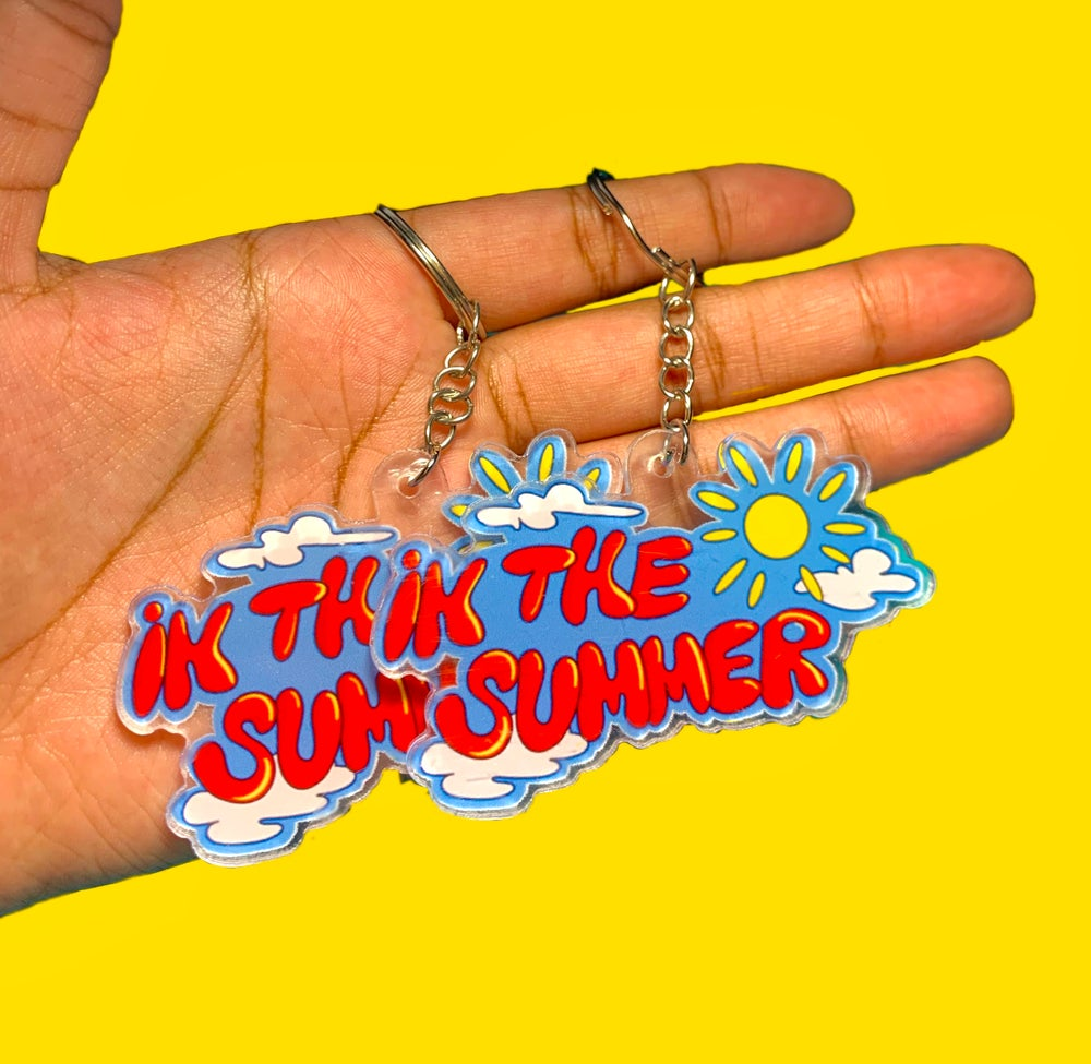 Image of IN THE SUMMER  KEYCHAIN
