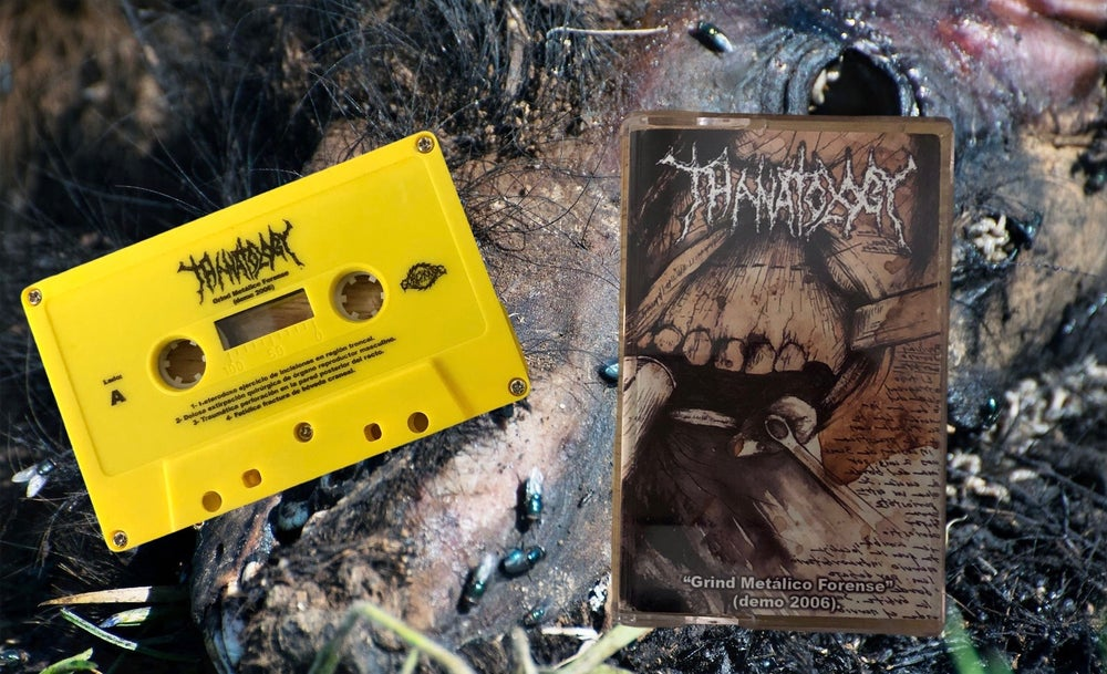 Image of Thanatology- Grind Metálico Forense Demo '06
