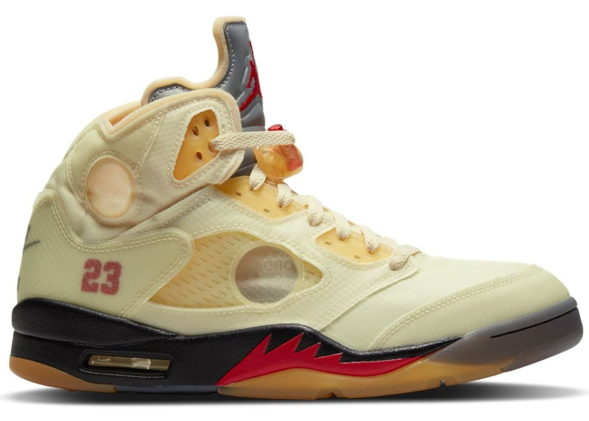 Image of Jordan 5 Off white  Sail
