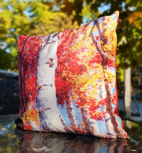 Image of - Autumn Accents Pillow -