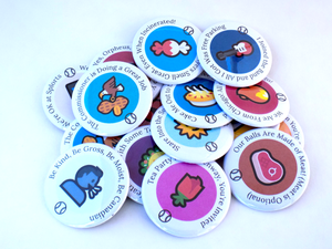 Buttons for Fans of Blaseball Teams