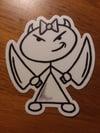 Thick Stella Sticker