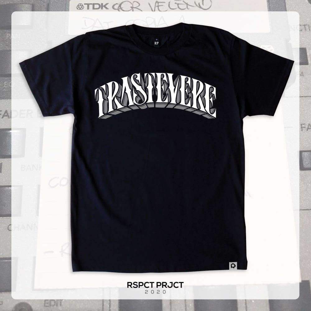 "Image of T-shirt ""TRASTEVERE"""