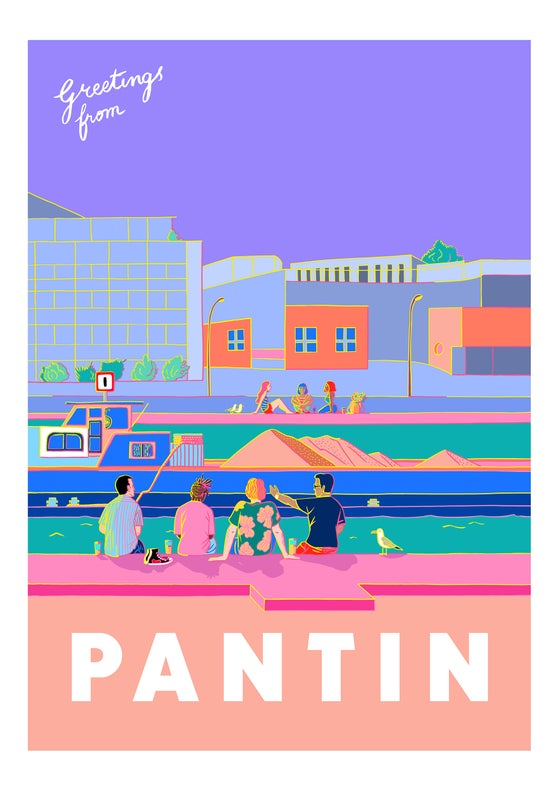 Image of Greetings from Pantin - Canal Boys