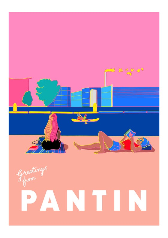 Image of Greetings from Pantin - Reading