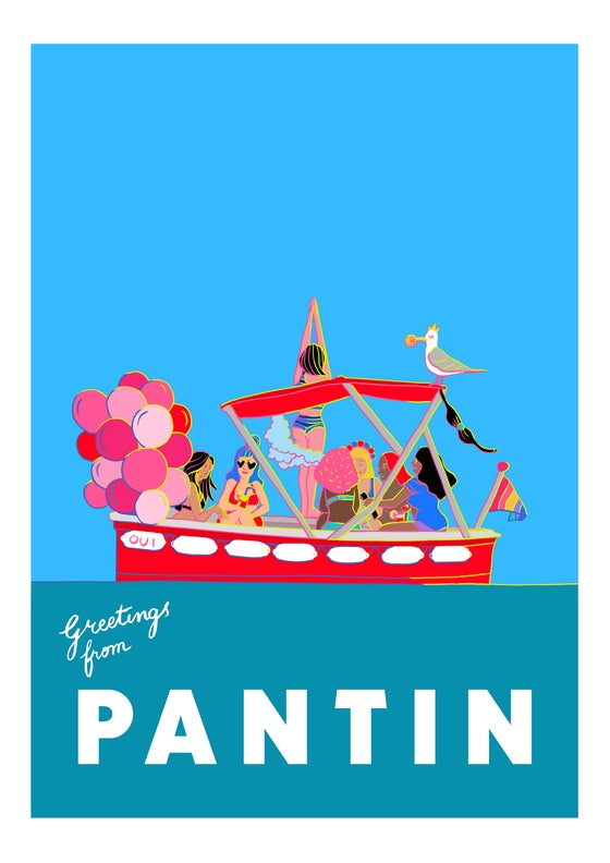 Image of Greetings from Pantin - Hen Party   EVJF