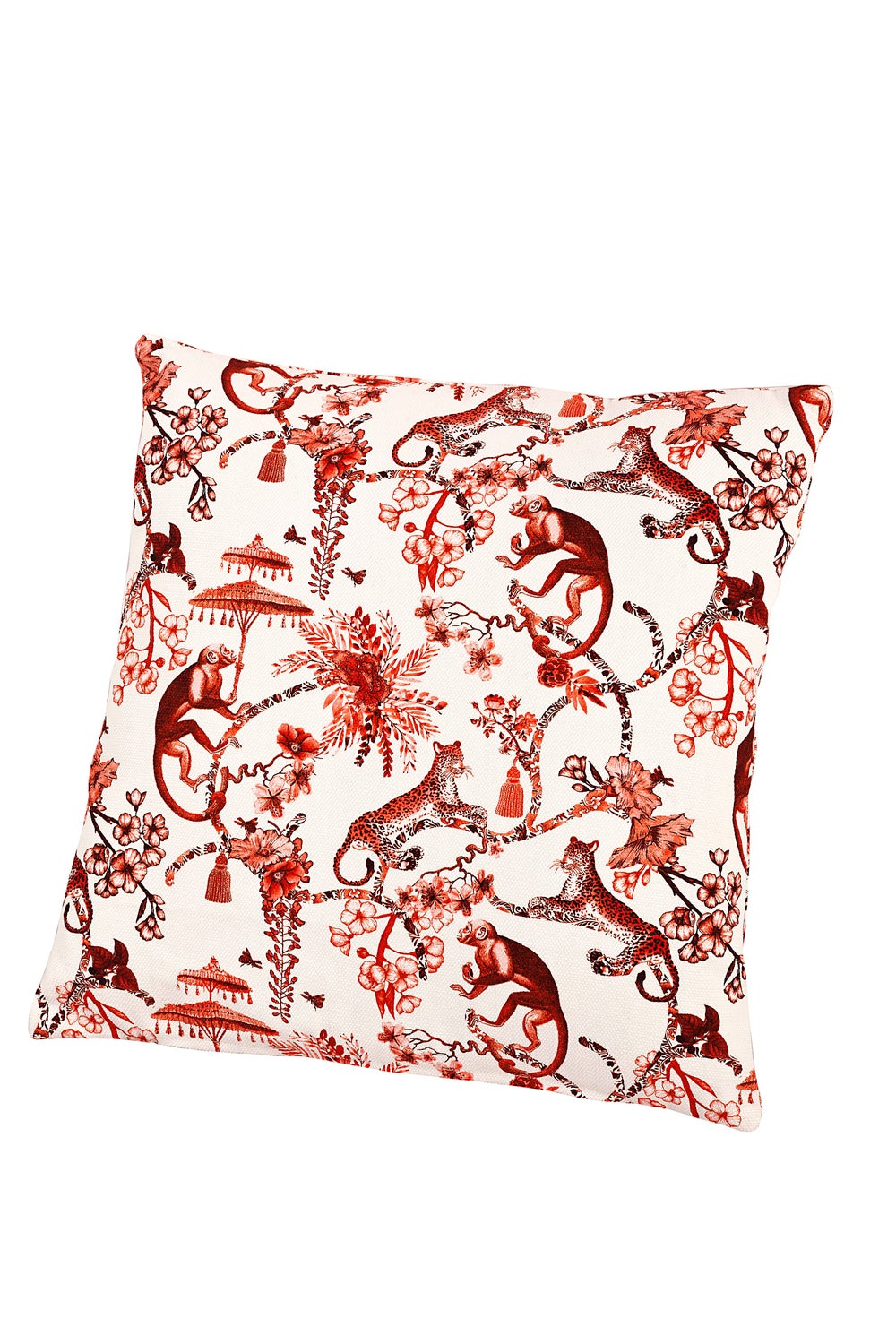 Image of Fodera per cuscino Chinoiserie - Chinoiserie cushion cover