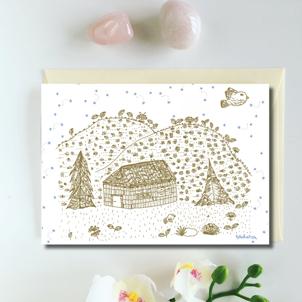 Image of Greeting Card *Chalet*