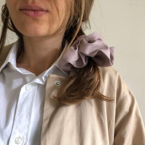 Image of Handmade Scrunchies by Damaja from silky tencel 100% organic fabric