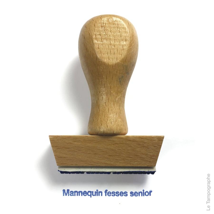 Image of Mannequin fesses senior