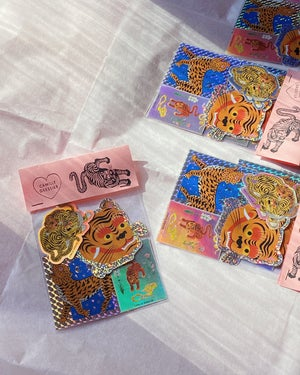 Image of Tigers 4 Stickers pack