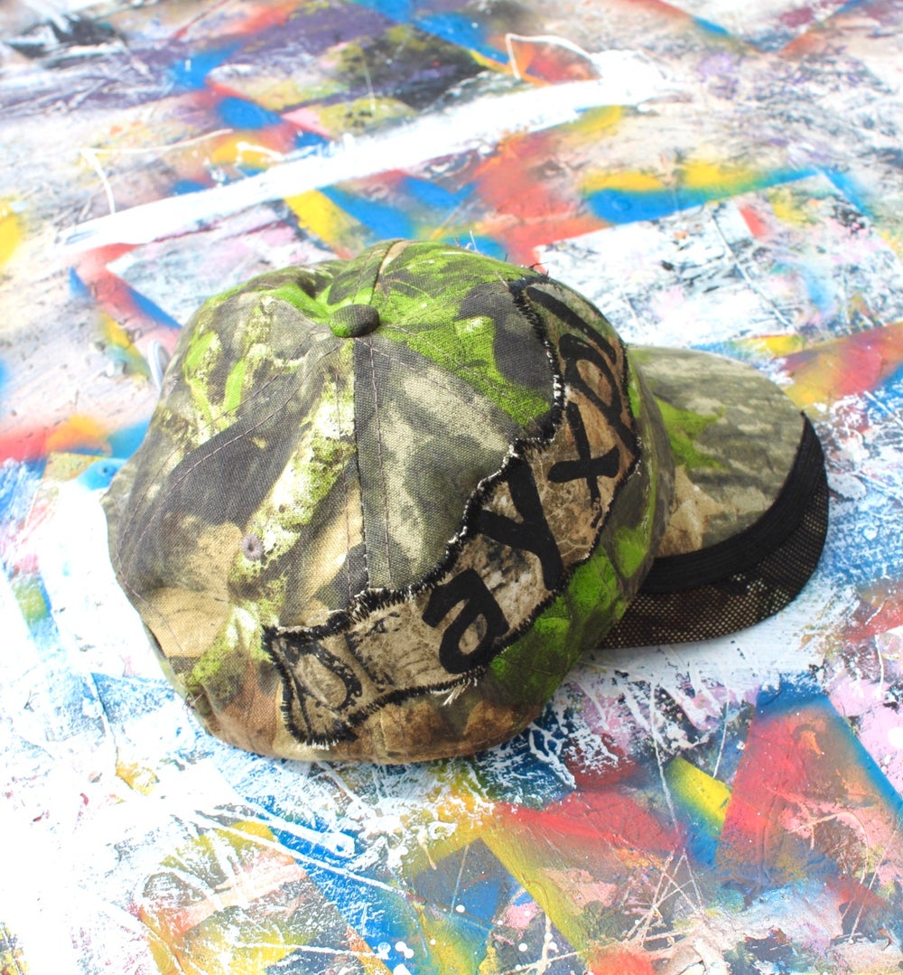 not much to see cap in camo