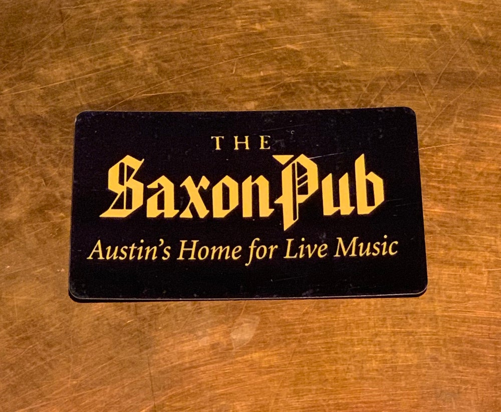 Image of $50 Saxon Gift Card