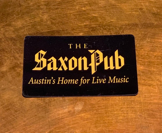 Image of $100 Saxon Pub Gift Card