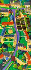 Wadenhoe Aerial Print
