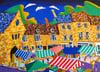 Oundle Market West Original Painting