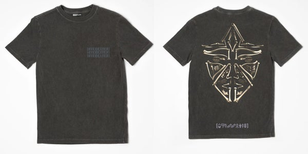 Image of Heavyweight Stone Overrated T-Shirt w Puff Ink