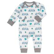 Image of Fresk Organic Cotton Blue Elephant Pyjamas