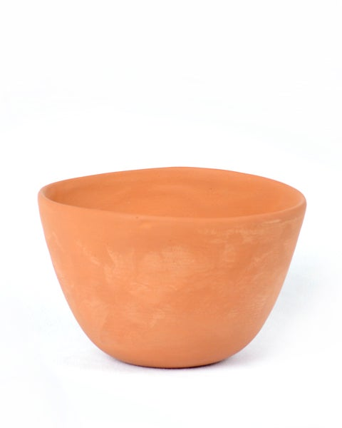 Image of Raw Earth Pot - Mountain River Clay (Deep Bowl)