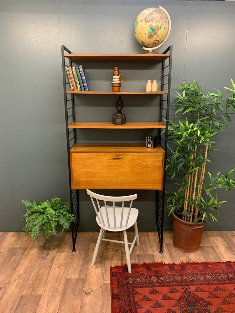 Image of Single bay mid century Ladderax