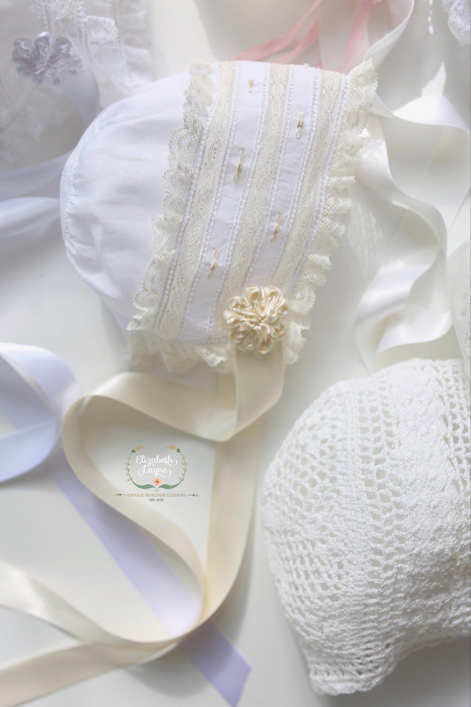Image of Heirloom Keepsake Bonnet