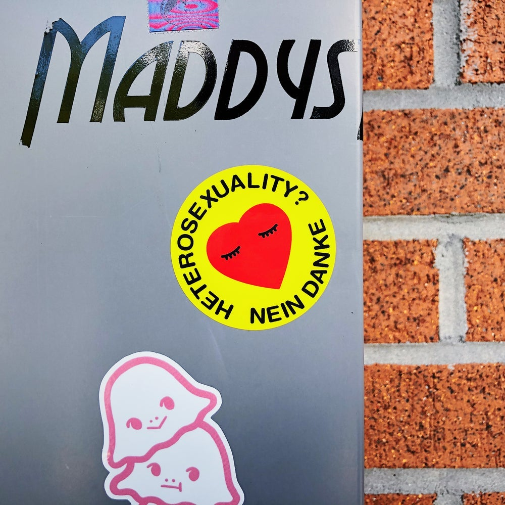 "Image of ""Heterosexuality? Nein Danke"" - Sticker"