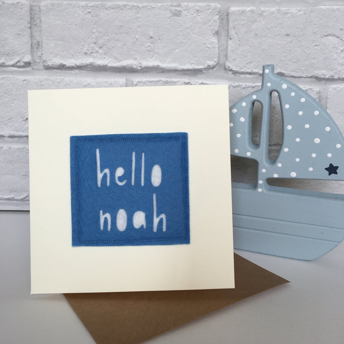 Image of Personalised New Baby Card