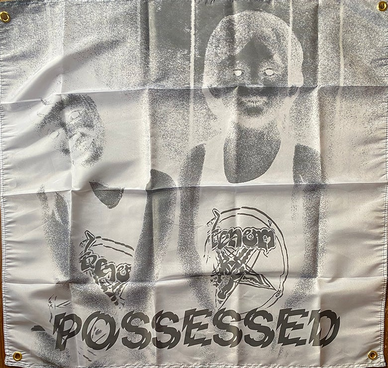 "Image of Venom "" Possessed "" Flag / Banner / Tapestry"
