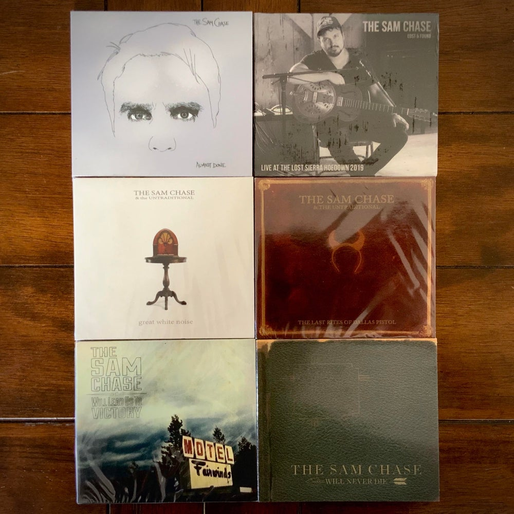 Image of The Sam Chase four albums on CD (Sold Separately)