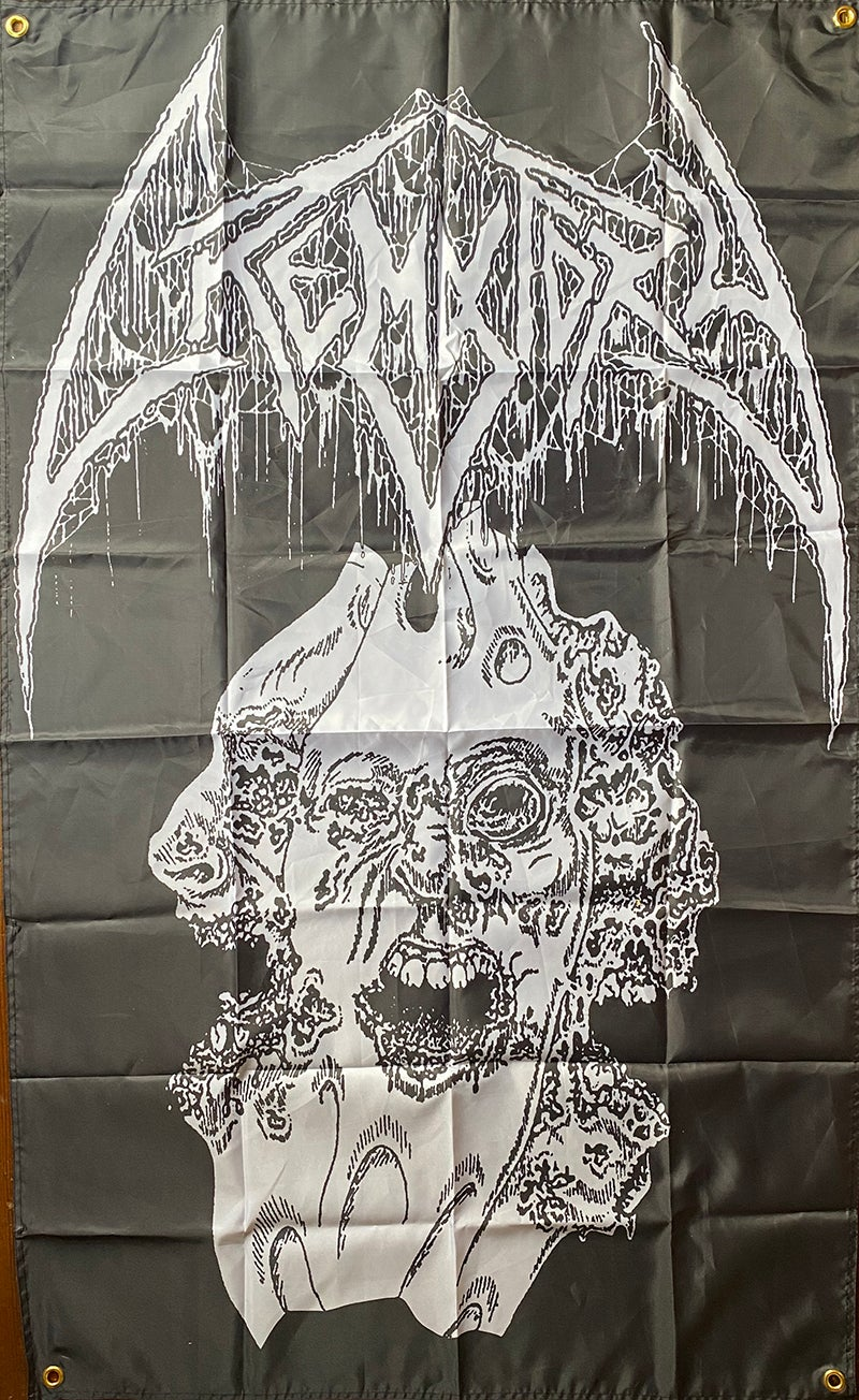 "Image of Crematory ""  Three Faces  "" Flag / Banner / Tapestry"