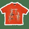 "Men's Polo Sport ""Lo Life"" Skeleton Print Jersey L"