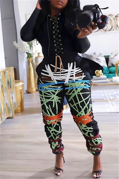 Image of Laced Up Joggers
