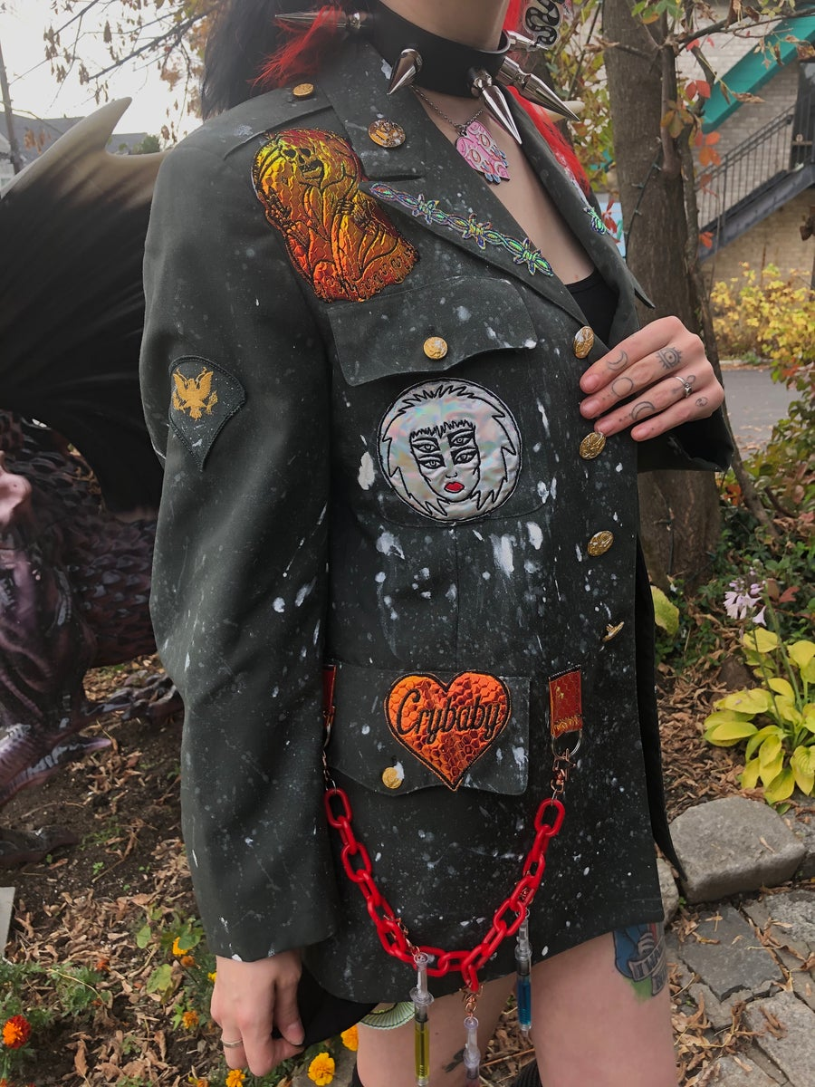 Image of In Utero Army Blazer