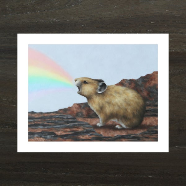 "Image of ""Magic Pika III"" Art Print"