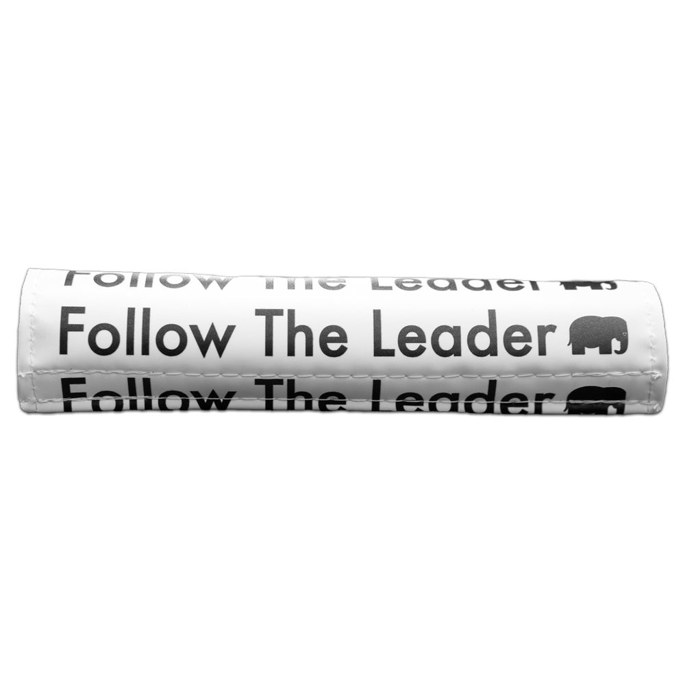 Image of Follow The Leader Bar Pad (White)