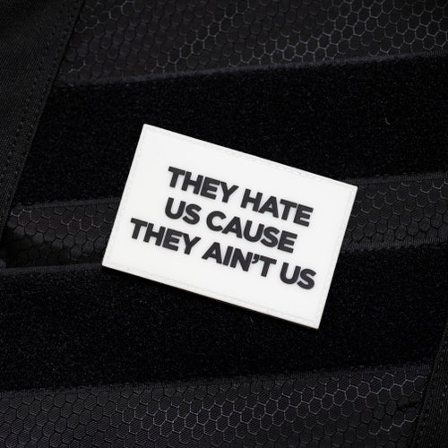 Image of Hate Us Series: Glow in the Dark Patch