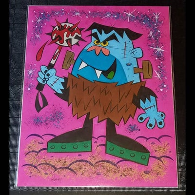 "Image of 'ORRIBLE ORVIE from The LITTLE MONSTERS 8.5"" x 11"" ORIGINAL ART!"