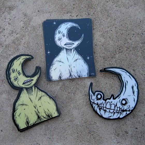 Image of Lunar sticker pack