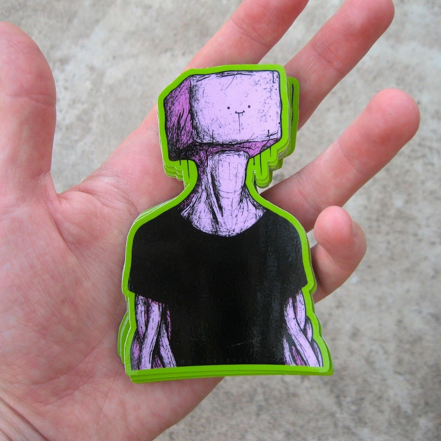 Image of Anniversary Concussion sticker pack