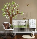 A Giggle and a Hoot Owl Removable Vinyl Wall Decal Art - 090