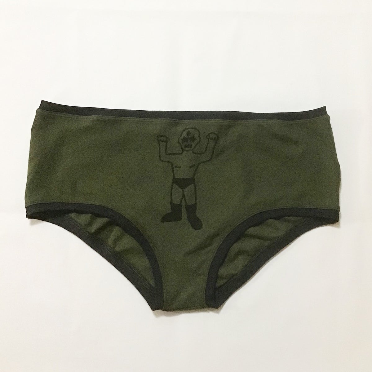 Image of Plus Size Olive Standard Pant