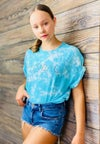 Blue Cloud Tye dye T-shirt