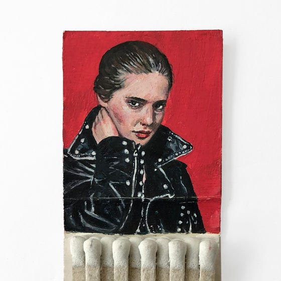 Image of 'Isabella' Matchbook Painting
