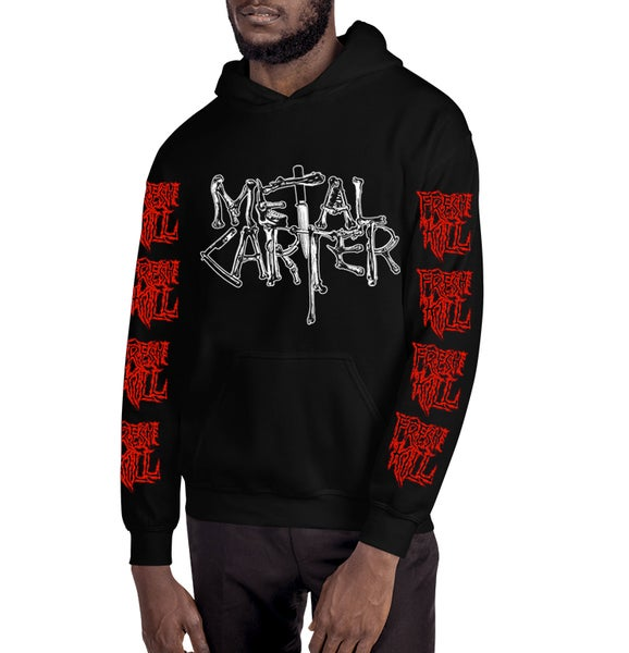 Image of Logo Fresh Kill Hoodie + Pandemic Mask